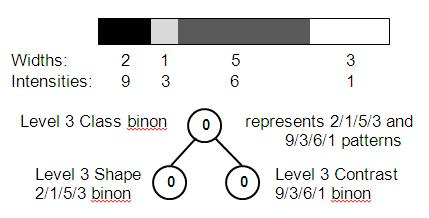 Association binon between shape and contrast